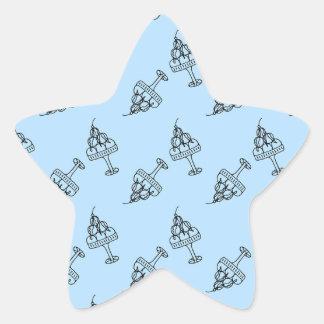 ice cream dream star sticker