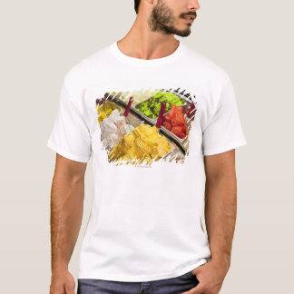 Ice cream flavors, Paris T-Shirt