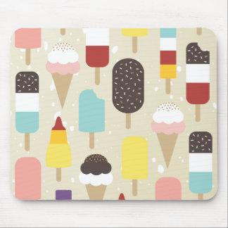 Ice Cream Frozen Treats Mousepad