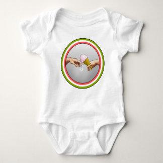 Ice Cream...  God's creation Baby Bodysuit