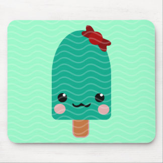 ice cream green mouse pads