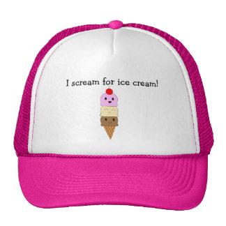 Ice Cream Trucker Hats