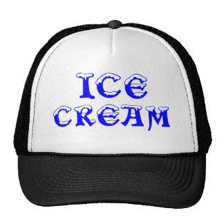 ICE, CREAM HATS
