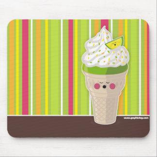 ice cream lemon mousepad