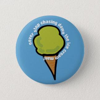 Ice Cream Man 6 Cm Round Badge