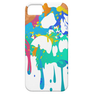 Ice Cream Mess Sweet Skull Sad Melting Case For The iPhone 5