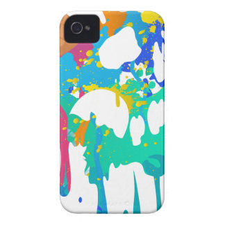 Ice Cream Mess Sweet Skull Sad Melting iPhone 4 Cases