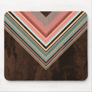 Ice Cream - Modern and Trendy geometric pattern Mouse Pad