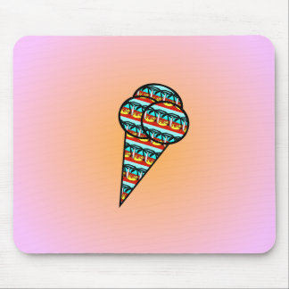 Ice Cream Mouse Mat
