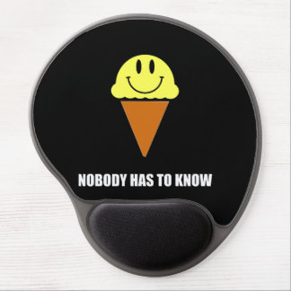 Ice Cream Nobody Has To Know Gel Mouse Mat