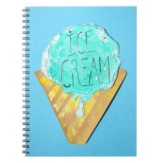 Ice Cream Notzizbuch Notebooks