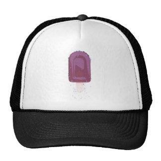 Ice cream of blackberry mesh hat
