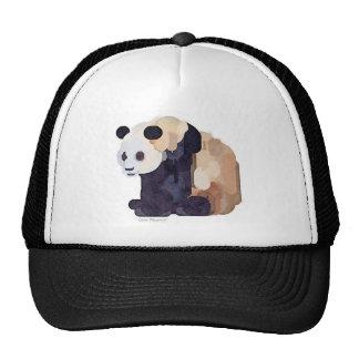 Ice Cream Panda #2 Watercolor Trucker Hat