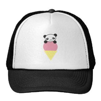 Ice Cream Panda Cap