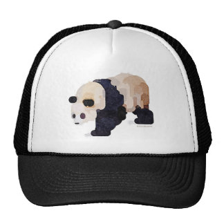 Ice Cream Panda Watercolor Trucker Hat