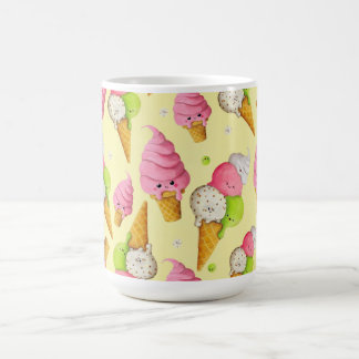 Ice Cream Pattern Coffee Mug
