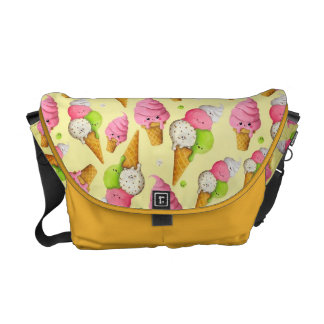 Ice Cream Pattern Courier Bags