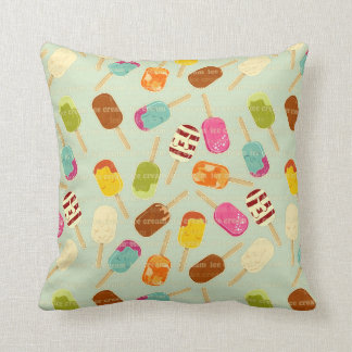 Ice Cream Pattern Cushion