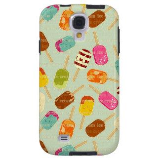 Ice Cream Pattern Galaxy S4 Case
