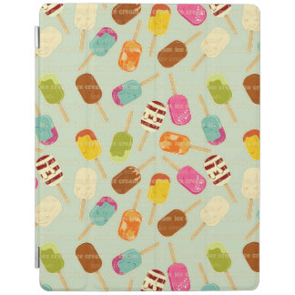 Ice Cream Pattern iPad Cover