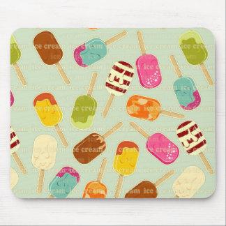 Ice Cream Pattern Mouse Pad