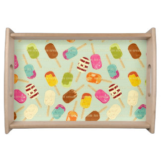Ice Cream Pattern Serving Tray