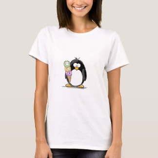 Ice Cream Penguin T-Shirt