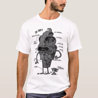 "Ice Cream People ""Anatomy"" T-Shirt"