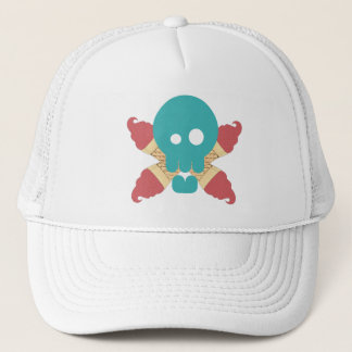 ICE CREAM PIRATE Trucker Hat