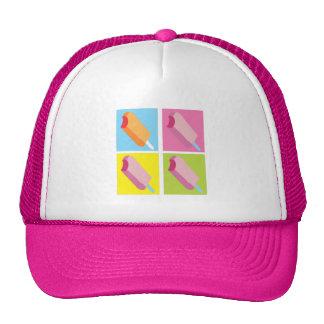 Ice Cream Pop Art Summer Hat