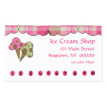 Ice Cream Punch Card Pack Of Standard Business Cards