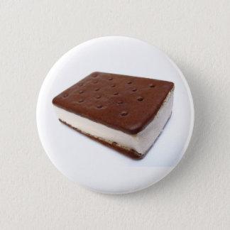 Ice Cream Sandwich 6 Cm Round Badge