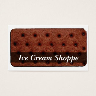 Ice Cream Sandwich Business Card