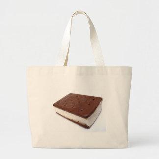 Ice Cream Sandwich Large Tote Bag