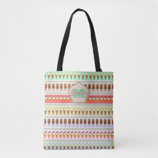 Ice Cream Shop Tote Bag