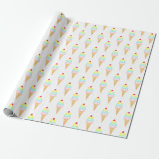 Ice Cream Sprinkles - Matte Wrapping Paper