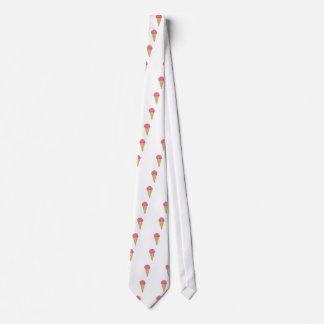 ice cream strawberry erdbeereis ice cream tie