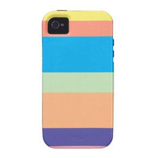 ice cream strips iPhone 4 case
