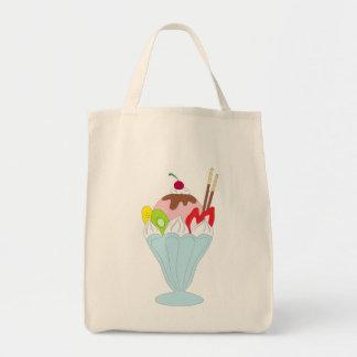 Ice Cream Sundae Canvas Bag