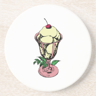 Ice Cream Sundae Coaster
