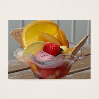 Ice Cream Sundae custom business card