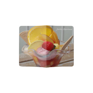 Ice Cream Sundae custom passport cover