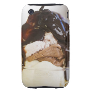 Ice cream sundae iPhone 3 tough covers