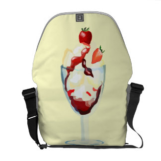 Ice Cream Sundae Courier Bags