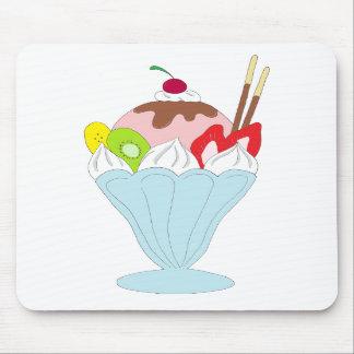 Ice Cream Sundae Mouse Pads