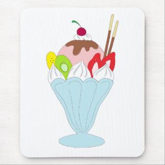 Ice Cream Sundae Mouse Pad