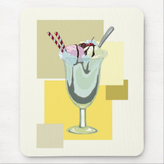 Ice Cream Sundae Mousepad