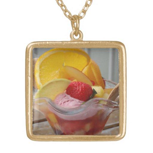 Ice Cream Sundae necklaces