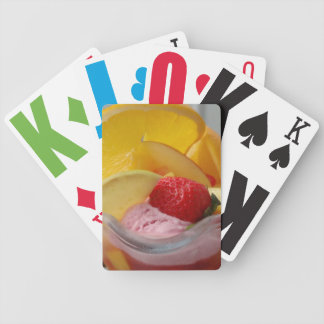 Ice Cream Sundae playing cards