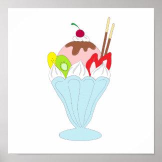 Ice Cream Sundae Poster